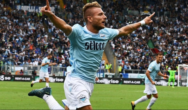Cior Immobile, the best player of Lazio. Who will score in today game versus Napoli